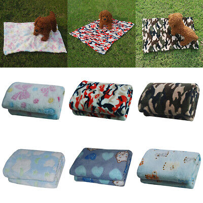 Super Soft Breathable Pet Blanket Playing Mat Puppy Kitten Comforter Cushion
