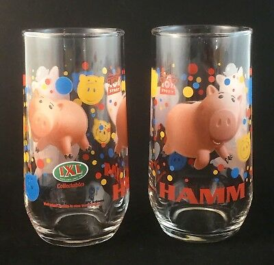 2 Ixl Limited Edition 8 Of 12 Disney Pixar Toy Story Collectables Hamm Glasses