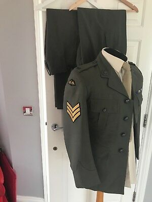 British Army / Royal Marine Commando Lovats/Service Dress Sgt. with Para Wings