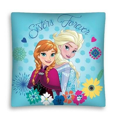 NEW LICENSED DISNEY FROZEN Sisters Forever cushion cover 40x40cm