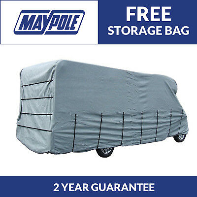 Maypole Premium Breathable 4-Ply Grey Motorhome Cover - Fits Up To 5.7m - MP9421