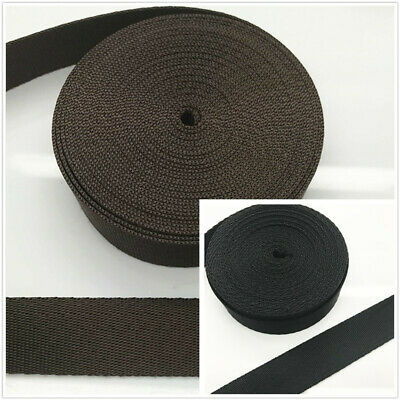 DIY 20mm 25mm 32mm 38mm 50mm Width webbing Nylon strapping bags straps weave
