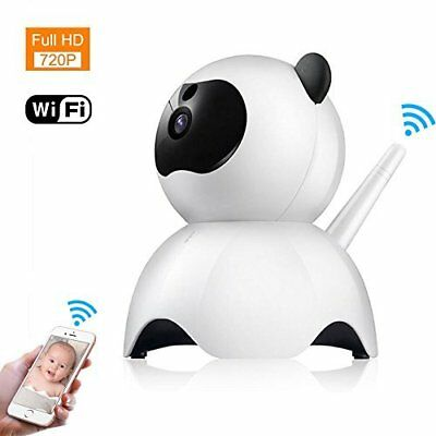 Baby Monitor IP Camera WiFi Wireless Night Vision Motion Alarm 2-Way Audio NEW