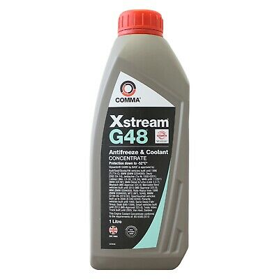 Comma Xstream G48 Antifreeze / Coolant - Concentrated (XSG1L) - 1 Litre