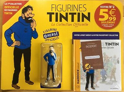 TINTIN Haddock dubitatif Collection officielle figurine n°2 Neuf sous blister