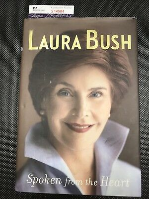 LAURA BUSH Authentic Hand Autographed Signed Book ** COA JSA