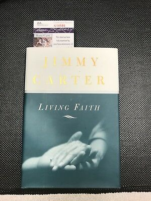 JIMMY CARTER Authentic Hand Autographed Signed Book ** COA JSA