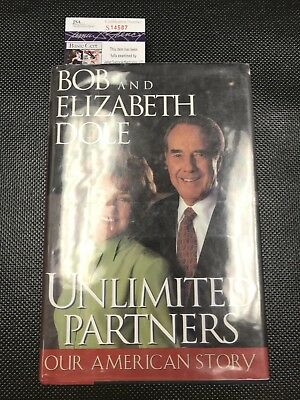 BOB DOLE Authentic Hand Autographed Signed Book ** COA JSA