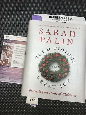 SARAH PALIN Authentic Hand Autographed Signed Book ** COA JSA