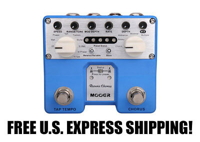 Mooer Audio Twin Series Reverie Chorus FREE U.S. EXPRESS SHIPPING