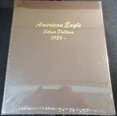 "Dansco ""7181"" American Eagle Silver Dollar 1986- Album. New With Free Shipping!!"