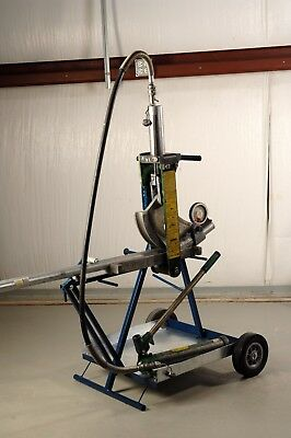 Bendcart BC82 is a vertical, portable bending platform for the Greenlee 882