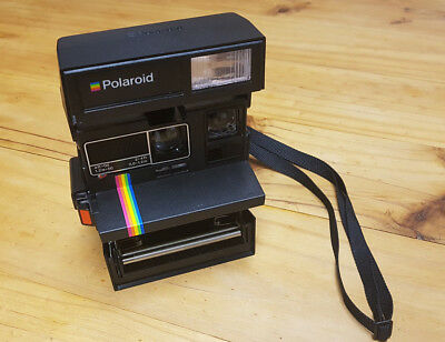 polaroid 635 cl supercolor instant camera untested free p p picclick uk. Black Bedroom Furniture Sets. Home Design Ideas