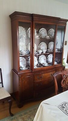 Antique living and dining room from estate sale. Excellent condition 1940s era