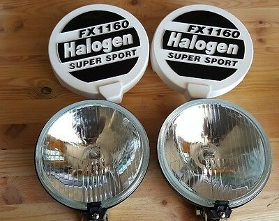 Vw Maggiolino Beetle Cox Kaefer T2 T3 Fari Supplementari High Beams Light
