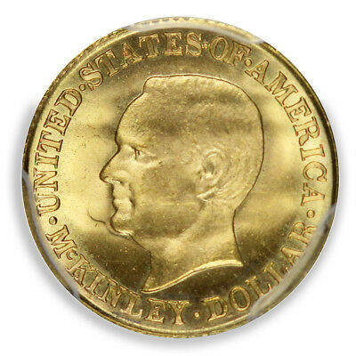 MCKINLEY 1916 G$1 Gold Commemorative PCGS MS66+ (CAC)