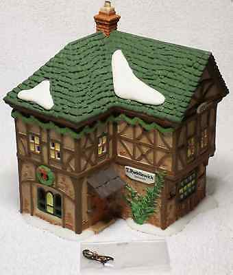 Dept 56 Dickens Village T. Puddlewick Spectacle Shop #58331