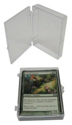 25 BCW Brand 35 Trading Card Capacity Hinged Box / Holder / Case - TCBRHB35 -
