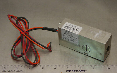 Gems 25358 FS-10798 Flow Switch 20VA Pilot Duty 0.5-20GPM Stainless Steel NEW