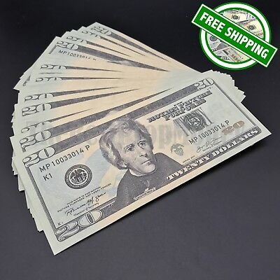 THE BEST PROP MONEY - 50x $20 Bills - $1,000 - Play Funny Prank Joke Fake Money