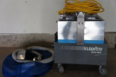 KleenRite 214-HX carpet extractor, cleaning machine, auto detailing equipment