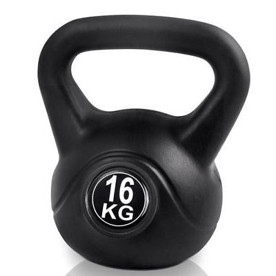 16kg Kettlebell Fitness Exercise Weight Training Gym or Crossfit