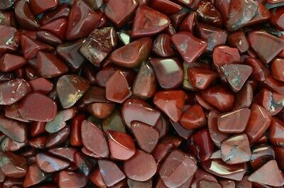 Fantasia: 3 lbs of Red Chestnut Jasper Tumbled Stones - Wire Wrapping, Crafts