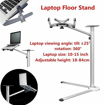 Laptop Floor Stand With Mouse Tray LESHP Laptop Holder Notebook Bracket Lot NU