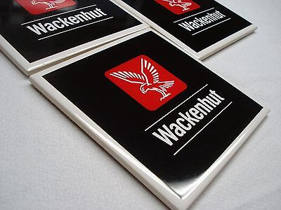 wackenhut lot of 4 vintage nuclear security employee beverage bar drink coasters jobs in south carolina