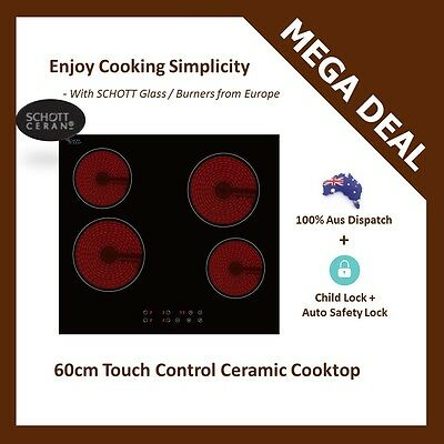 New 60cm European Ceramic Glass Touch Control Electric Cooktop Cable