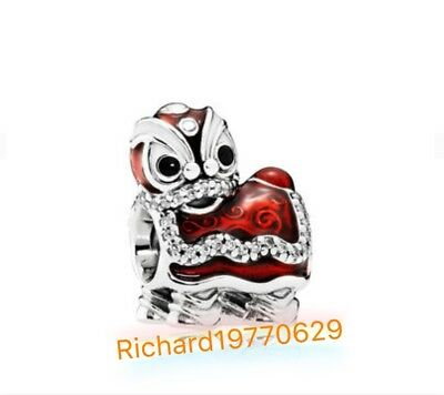 Pandora Chinese Lion Dance Charm【Pre Sale 3 Weeks Delivery】item 792043CZ