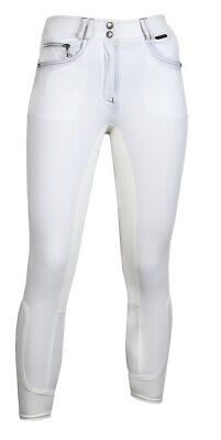 HORKA Junior Kingston High Waist Full Leather Seat Horse Riding Breeches