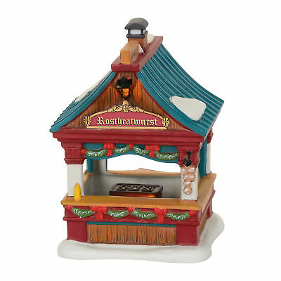 Department 56 Christmas Market, Bratwurst Booth 4059378 Alpine   Dept 2017 New