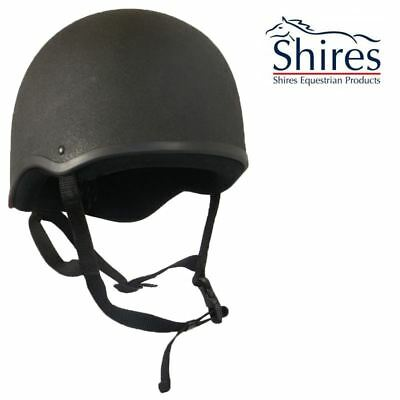 Shires Adults Skull Bow Padded Comfort Showing Horse Riding Equine Hat Helmet