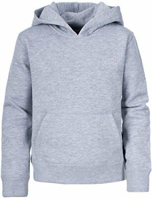 Trespass Boy s Whelan Hoody - Grey Marl, Size 2 3