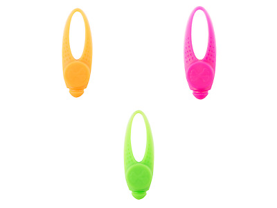 Ancol Soft Flashing Blinker LED Safety Collar Light Dog Puppy Green or Pink