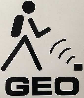 Geocache Wifi Decal Geo Sticker Outdoor Quality Vinyl Any Colour Buy 2 Get 1Free