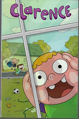 Clarence by Liz Prince & Evan Palmer  2015, TPB kaboom! Cartoon Network OOP