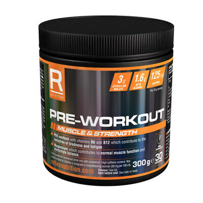 Reflex Nutrition Pre-Workout Muscle & Strength Weight Training 300g