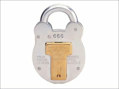 Henry Squire - 660KA Old English Padlock with Steel Case 64mm Keyed