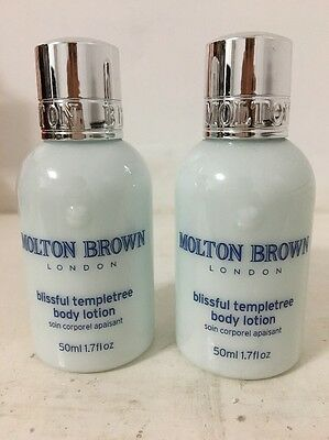 Molton Brown Blissful Templetree Body Lotion 2x50ml