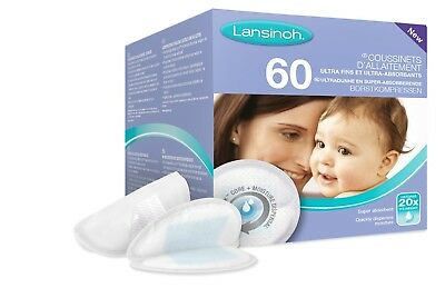 Lansinoh Disposable Nursing Pads (60 Pieces)-Fast DeliveryTop Quality