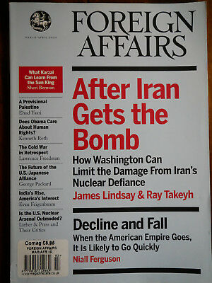 Foreign Affairs Magazine March/April 2010