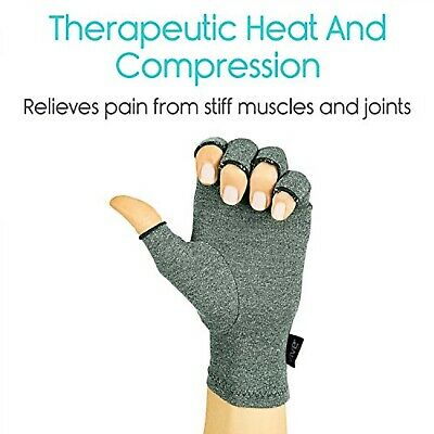Arthritis Compression Gloves Sleeve Relieve Pain RSI Carpal Tunnel Hand Gloves