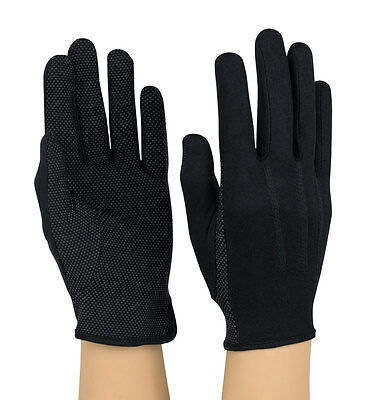 100% Cotton Beaded Gloves - White or Black - Free Shipping
