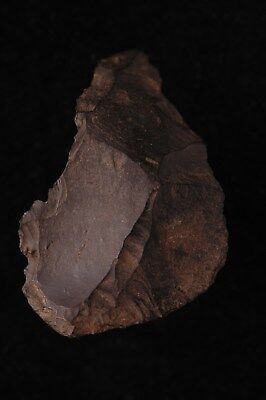 NEOLITHIC, MIDDLE TO LATE  PALEO FLAKE KNIFE, TOOL, Ebro River Valley, Spain