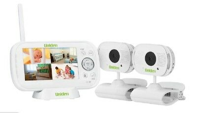 "Uniden BW3102 4.3"" 2-Way Digital Baby Video Audio Wireless Monitor Night Vision"