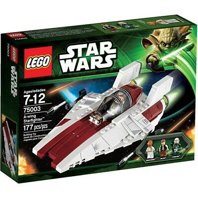 LEGO Star Wars A-wing Starfighter Play Set. Shipping is Free