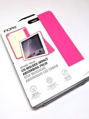 Incipio Octane Folio Flip Case/Cover For Apple iPad Air 2 in Hot Pink Colors