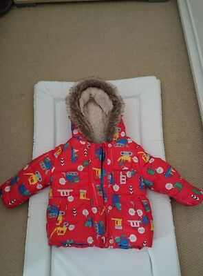 baby boy mothercare winter jacket 6-9 months